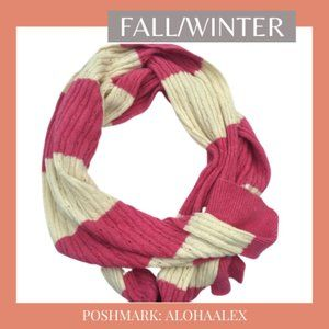 Accessories - AMERICAN EAGLE PINK KNIT CHUNKY SCARF